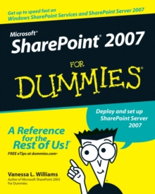 Microsoft SharePoint 2007 For Dummies, Paperback