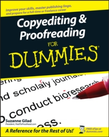Copyediting and Proofreading For Dummies, Paperback