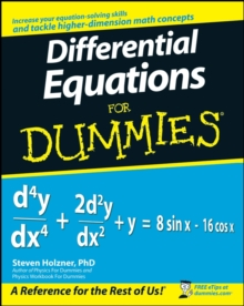 Differential Equations For Dummies, Paperback