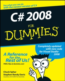 C# 2008 For Dummies, Paperback Book