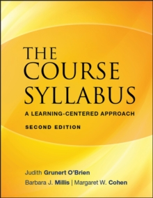 The Course Syllabus : A Learning-centered Approach, Paperback