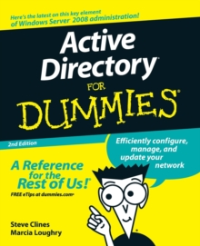 Active Directory For Dummies, Paperback Book
