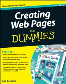 Creating Web Pages For Dummies, Paperback Book