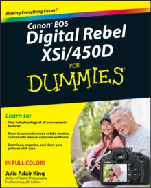 Canon EOS Digital Rebel XSi/450D For Dummies, Paperback