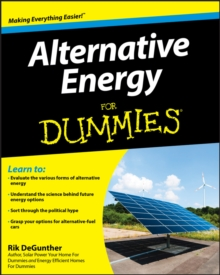 Alternative Energy For Dummies, Paperback Book