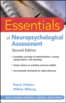 Essentials of Neuropsychological Assessment, Paperback