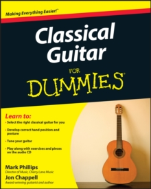 Classical Guitar For Dummies, Paperback