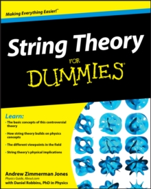 String Theory For Dummies, Paperback