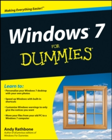 Windows 7 for Dummies, Paperback