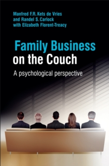 Family Business on the Couch : A Psychological Perspective, Hardback