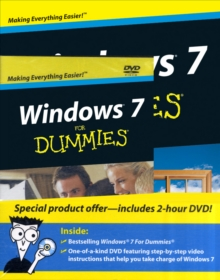 Windows 7 For Dummies Book and DVD Bundle, Paperback