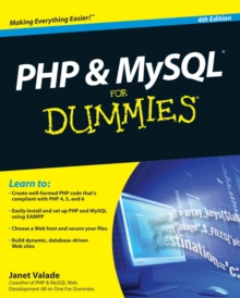 PHP and MySQL For Dummies, Paperback Book