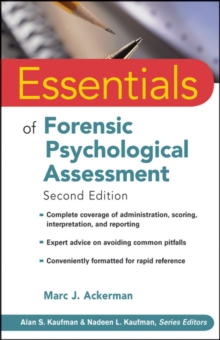 Essentials of Forensic Psychological Assessment, Paperback