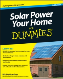 Solar Power Your Home For Dummies, Paperback