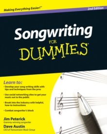 Songwriting For Dummies, Paperback