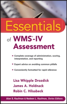 Essentials of WMS-IV Assessment, Paperback