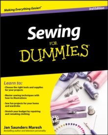 Sewing For Dummies, Paperback Book