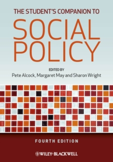 The Student's Companion to Social Policy, Paperback