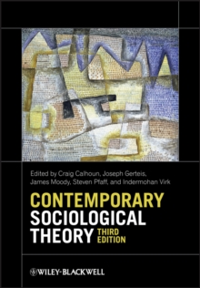 Contemporary Sociological Theory, Paperback Book