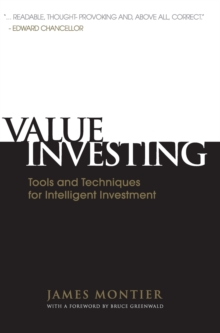 Value Investing : Tools and Techniques for Intelligent Investment, Hardback Book