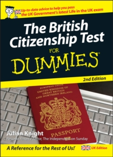 The British Citizenship Test For Dummies, Paperback