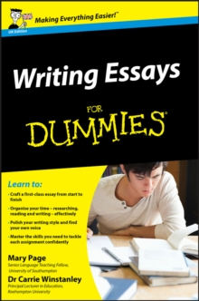 Writing Essays For Dummies, Paperback Book
