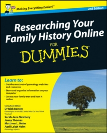 Researching Your Family History Online For Dummies, Paperback