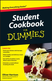 Student Cookbook For Dummies, Paperback