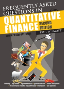 Frequently Asked Questions in Quantitative Finance, Paperback