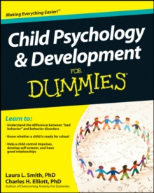Child Psychology & Development For Dummies, Paperback