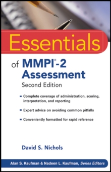 Essentials of MMPI-2 Assessment, Paperback