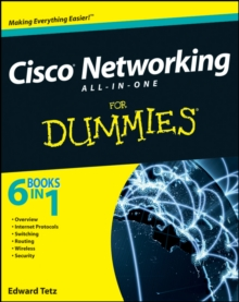 Cisco Networking All-in-One For Dummies, Paperback Book
