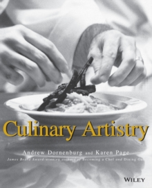 Culinary Artistry, Paperback