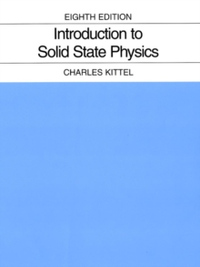Introduction to Solid State Physics, Hardback Book
