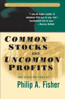 Common Stocks and Uncommon Profits and Other Writings, Paperback