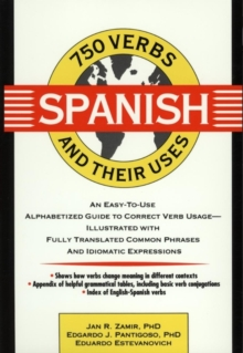 750 Spanish Verbs and Their Uses, Paperback