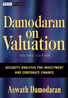 Damodaran on Valuation : Security Analysis for Investment and Corporate Finance, Hardback