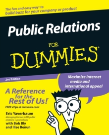 Public Relations For Dummies, Paperback