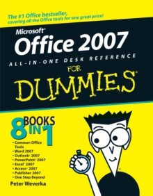 Office 2007 All-in-one Desk Reference For Dummies, Paperback Book