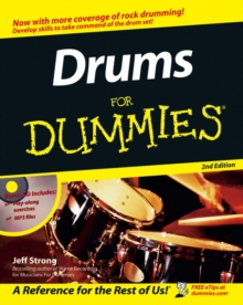 Drums for Dummies, 2nd Edition, Paperback Book
