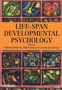 Life-span Developmental Psychology : A European Perspective, Paperback Book