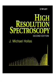 High Resolution Spectroscopy, Hardback