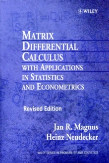 Matrix Differential Calculus with Applications in Statistics and Econometrics, Paperback