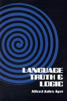 Language, Truth and Logic, Paperback