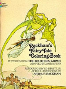 Rackham's Fairy Tale Colouring Book, Paperback