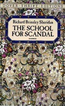 The School for Scandal, Paperback