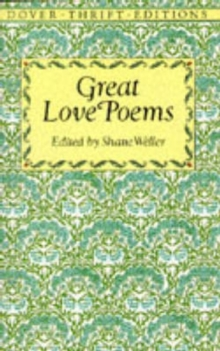 Great Love Poems, Paperback Book