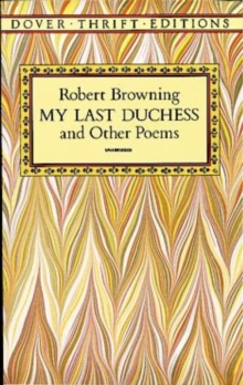 My Last Duchess and Other Poems, Paperback Book