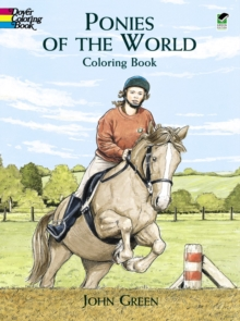 Ponies of the World Colouring Book, Hardback