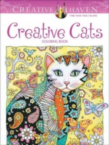 Creative Haven Creative Cats Coloring Book, Paperback